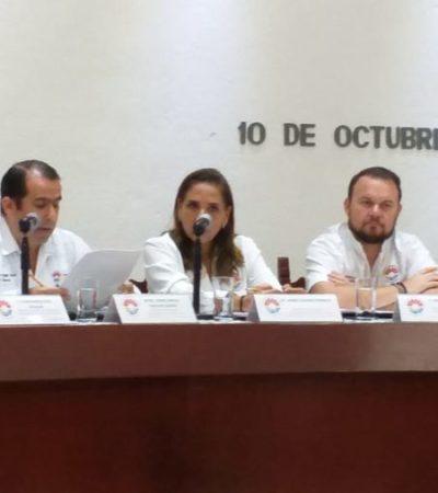 Titubea Mara Lezama al ser cuestionada por ausentarse más de una semana en el Ayuntamiento