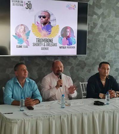 Anuncian que UB40, Chucho Valdés y Eliane Elias tocarán en el Festival de Jazz de la Riviera Maya 2019