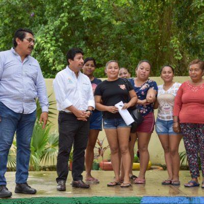Realiza Víctor Mas gira de trabajo en Chemuyil