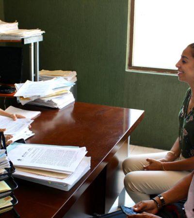 Acude Senadora a Conciliación y Arbitraje en apoyo de trabajadores despedidos de la empresa concesionaria de la recolección de la basura en Cancún