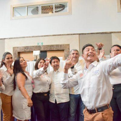 Participa Alcalde de Tulum en la toma de protesta de la Red Mundial de Jóvenes Políticos, capítulo Quintana Roo