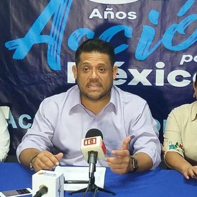"""Pide Eduardo Pacho """"piso parejo"""", tras denunciar reparto de dádivas durante el inicio de campaña por la dirigencia estatal del PAN"""