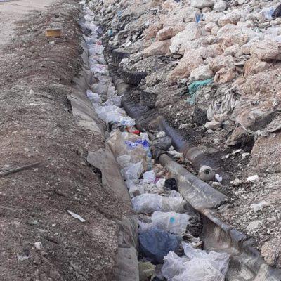 Rompeolas: El 'relleno sanitario', otro desastre que no ven los regidores de Cancún