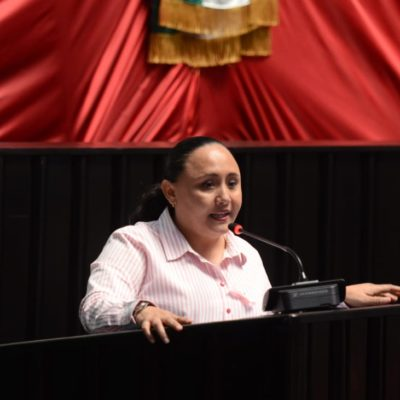 Bajar ya el IVA al 8% en favor de las familias del sur de Quintana Roo, pide Cristina Torres