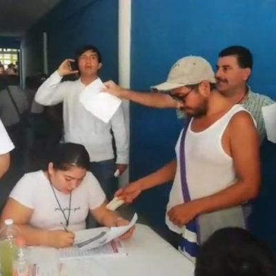 COBERTURA | Denuncian fraude e irregularidades en el arranque del proceso de elección de consejeros de Morena en Cancún