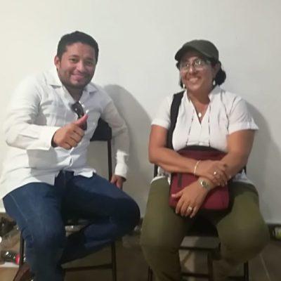 COBERTURA | Omar Sánchez Cutis, el triunfador en la elección de consejeros de Morena en el Distrito 01