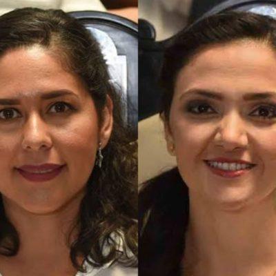 Las diputadas Linda Cobos y Euterpe Gutiérrez se pronuncian contra la destitución de Edgar Gasca que promueve Reyna Durán