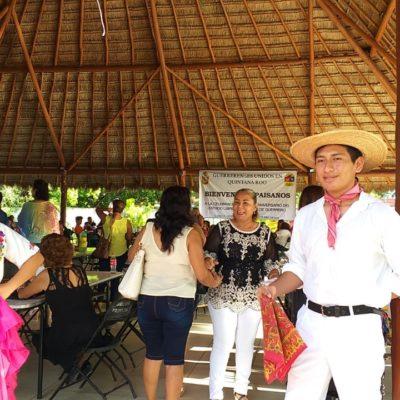 Guerrenses radicados en Quintana Roo claman por seguridad y empleo en el marco de la celebración de 170 años de su estado