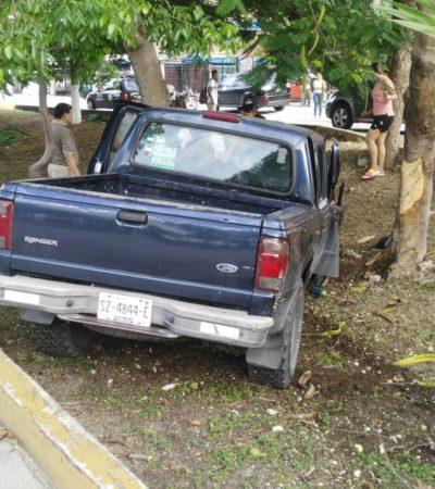 TRÁGICO ACCIDENTE EN CANCÚN: Niña queda huérfana y en estado grave tras ser arrolladas por una camioneta en la Región 96