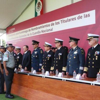 Designa Sedena a Alejandro Estrada Pérez comisario de la Guardia Nacional en QR
