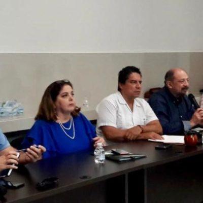 Por recale masivo de sargazo no se han concretado inversiones en el sector turístico de QR, acepta ante empresarios Marisol Vanegas