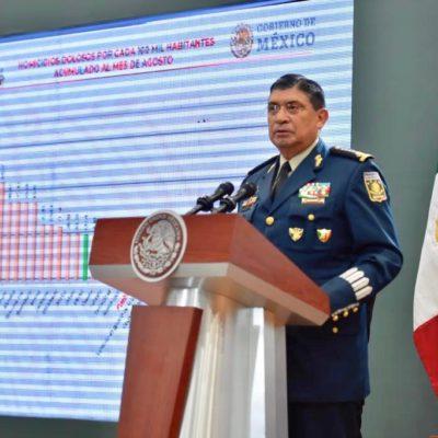 Encabeza Colima homicidios dolosos por cada 100 mil habitantes, según datos actualizados del titular de la Sedena