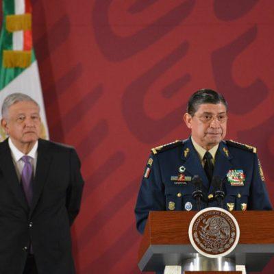 Y por orden presidencial, ponen en la mira a Coronel por fallido operativo en Culiacán