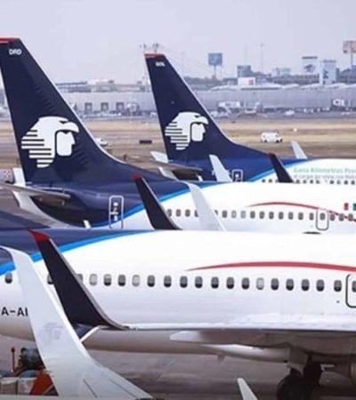 Descarta Aeroméxico operar en 2 aeropuertos