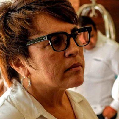 Rompeolas: Declina Laura Beristain invitación de diputadas playenses