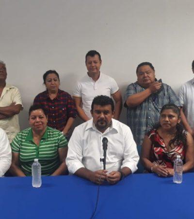 Inicia Faustino Uicab campaña en busca de la dirigencia estatal del PAN