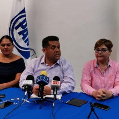 Reitera Eduardo Pacho que militancia panista ya está cansada de recibir dádivas y amenazas para elegir a su dirigencia
