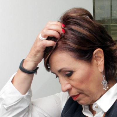FRACASA DEFENSA EPISTOLAR DE ROSARIO ROBLES: Permanecerá en la cárcel por 'riesgo de fuga'