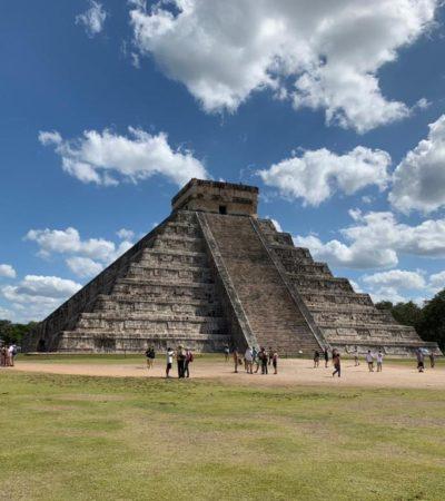 Reportan grave a jefe de seguridad de Chichén Itzá que fue apuñalado por un guía de turistas