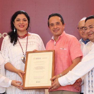 """""""ES UN PASO ADELANTE, UNA OPCIÓN Y UNA POSIBILIDAD"""": Recibe Quintana Roo la declaratoria de Tihosuco como 'Zona de Monumentos Históricos'"""