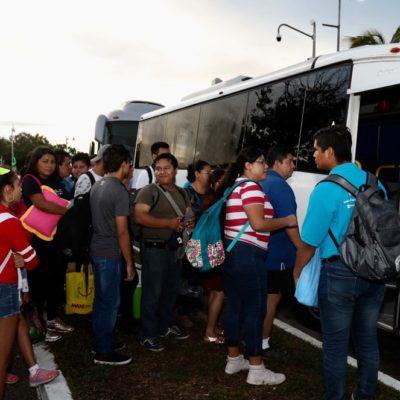 Por el Día Mundial del Turismo, Gobierno de QR ofreció viajes gratuitos a trabajadores de la industria turística
