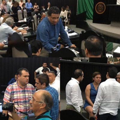 Interrumpe Reyna Durán sesión en el Congreso de Quintana Roo para informar de cambio en coordinación de Morena
