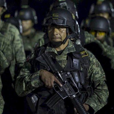 FOTOS | DESPUÉS DEL RIDÍCULO…: Arriban a Sinaloa 230 militares de élite con entrenamiento y armamento especiales