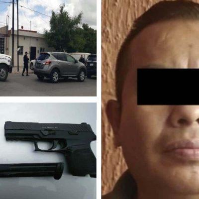 Cae por extorsión exsecretario de seguridad municipal de Nuevo León
