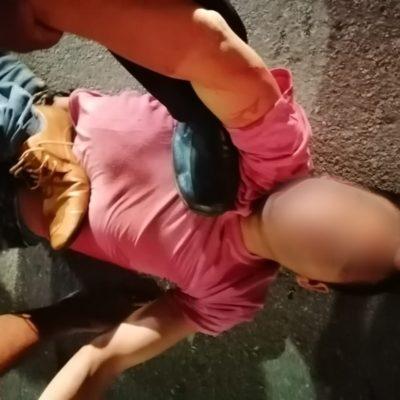 DAN ESCARMIENTO A LADRONZUELO EN PLAYA: Vecinos de la colonia Forjadores sorprenden durante la madrugada a hombre robando y lo tunden y encueran