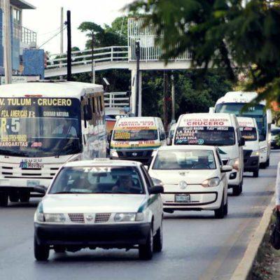 Emprenderá personal de Tránsito verificaciones para garantizar que todos los vehículos que circulan en Cancún cumplan con seguro