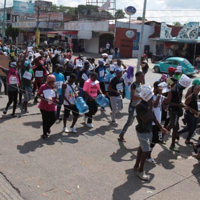 Parte de Chiapas nueva caravana de migrantes que ansían llegar a los estados Unidos
