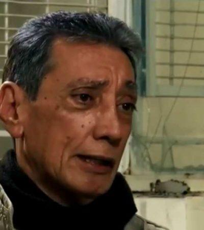 """""""NO ES QUE ME VAYA A MORIR AHORITA, PERO EL PROBLEMA ES CRÓNICO"""": Mario Villanueva, con 47% de capacidad pulmonar"""