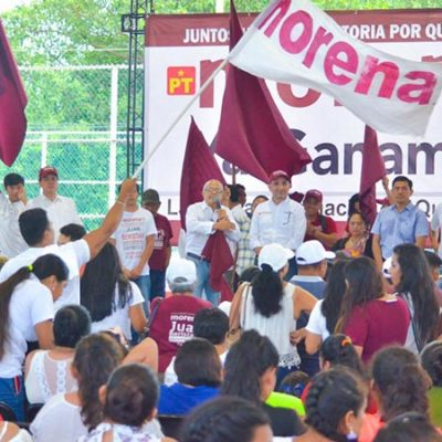 Elige Morena hoy a 40 consejeros estatales en Quintana Roo