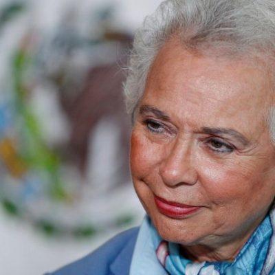 Considera Sánchez Cordero que el país está ya preparado para tener una mujer en la Presidencia