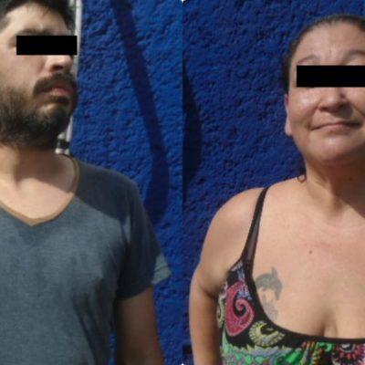 Detienen a un hombre y una mujer por daños en la  SM 92