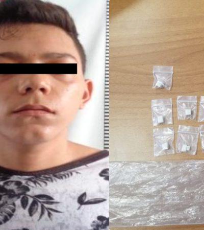 Detiene Seguridad Pública a presunto narcomenudista en Cozumel