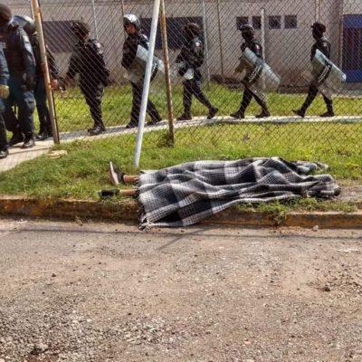 Deja seis muertos riña en penal de Morelos, entre ellos un líder del CJNG