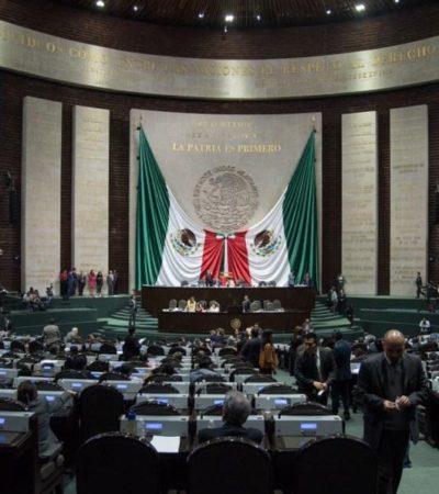 Aprueban diputados reforma que impone tope salarial a servidores públicos; pasa al Senado