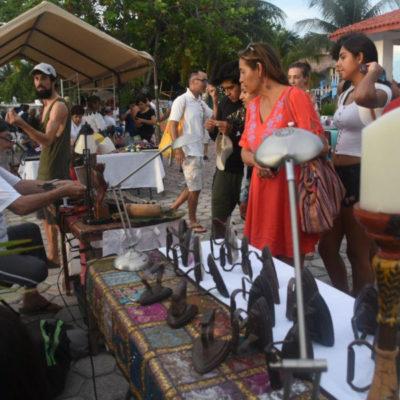 El Tianguis con Encanto de Puerto de Morelos se convierte en la vitrina principal para exposición y venta directa de productos