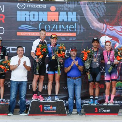 Refrenda Cozumel liderazgo deportivo con el Mazda Ironman Full 2019