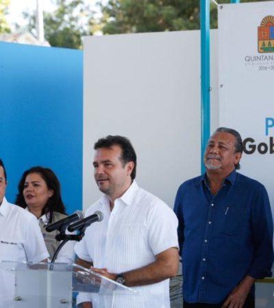 Recalca Pedro Joaquín suma de esfuerzos con el Gobierno del Estado para brindar mejor calidad de vida a cozumeleños