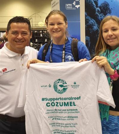 Refrenda Cozumel su liderazgo turístico en convención mundial de buzos