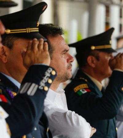 Realizan ceremonia conmemorativa del Día de la Armada de México en Cozumel
