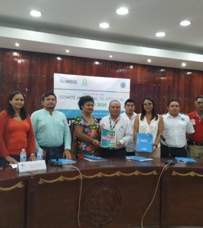 Apoyarán dependencias municipales al INEGI para realizar el censo de población 2020 en Isla Mujeres