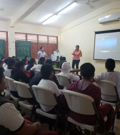 A través del cine buscan fomentar la historia de México en escuelas de Isla Mujeres