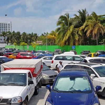 Detectan irregularidades en dos de los 48 estacionamientos registrados durante operativos de Fiscalización en Cancún