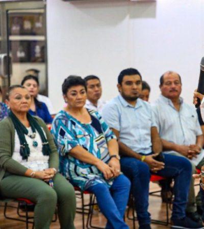 Imparten taller para prevenir la extorsión y el fraude vía telefónica en Isla Mujeres