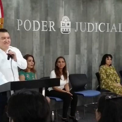 Concluyen diplomados personal del Tribunal Superior de Justicia de Quintana Roo
