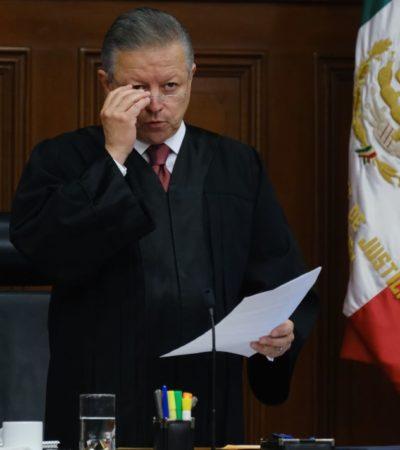 Decidirá la Suprema Corte con independencia sobre 'Ley Bonilla', asegura Arturo Zaldívar