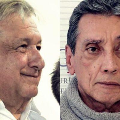 """MARIO VILLANUEVA, 'CONTENTO' POR PROMESA DE AMLO: Tras ofrecimiento de buscar su liberación, dice ex Gobernador que """"ahora se actuará conforme a la ley"""""""